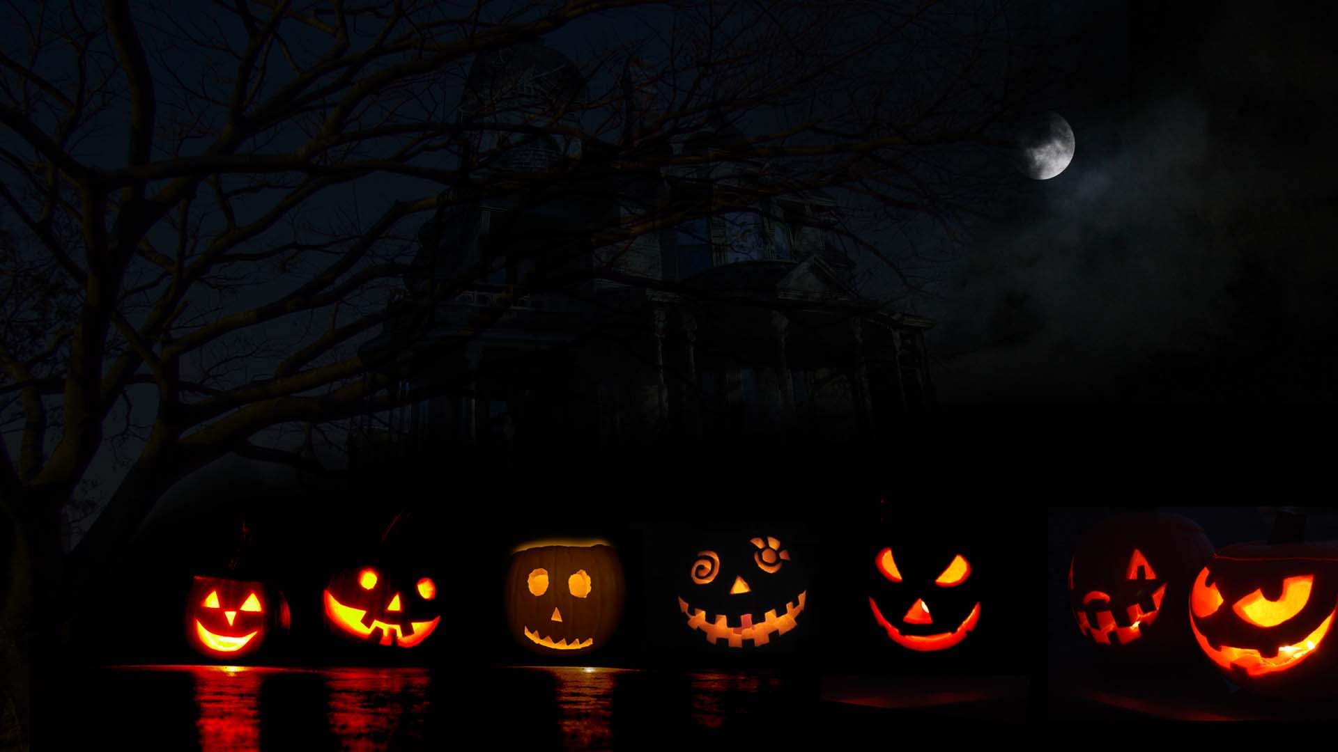 Halloween Backgrounds HD Backgrounds Pic 1920x1080