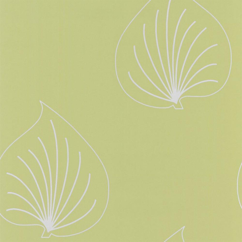 Spongeable Colour Green Light Grey Design Style Leaf Design 1000x1000