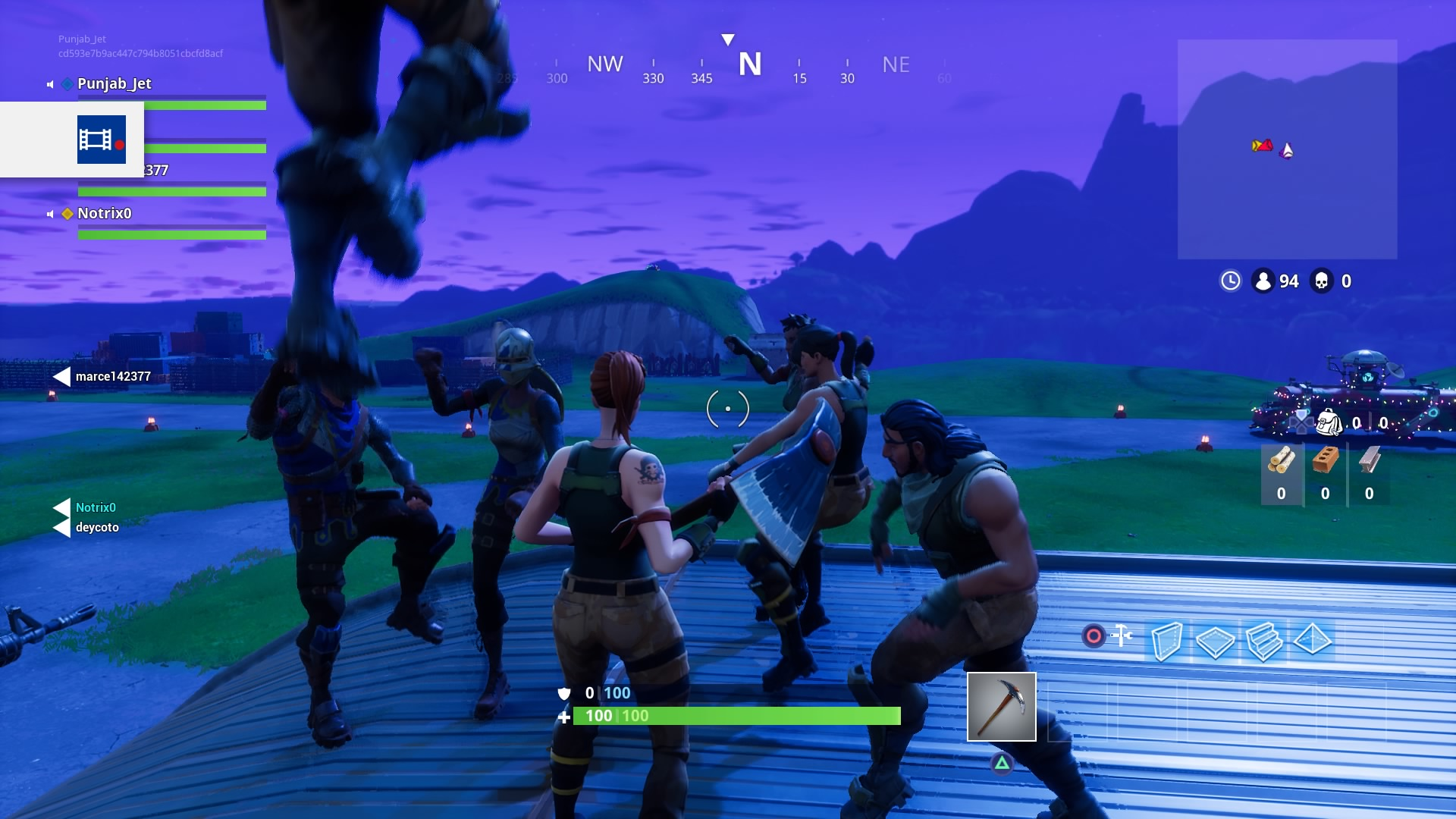 Fortnite Dance Party Wallpaper 63020 1920x1080 px 1920x1080