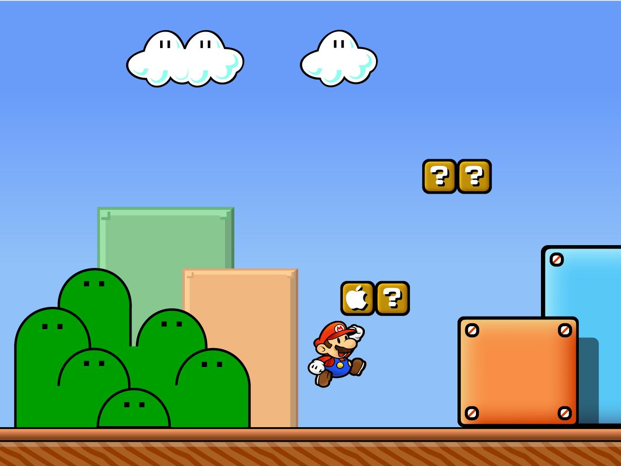 Mario Desktop Background - WallpaperSafari