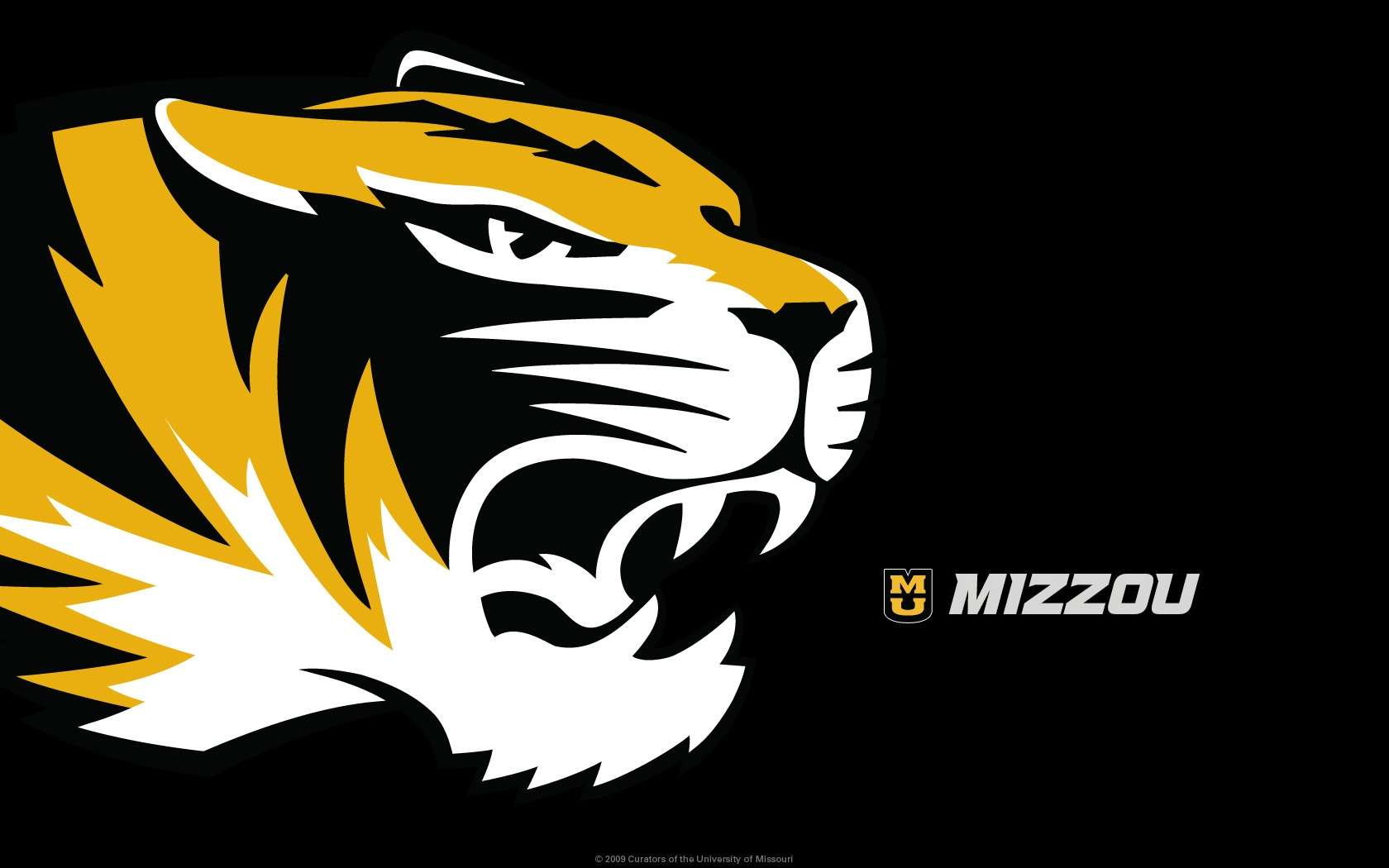I Updated The Times New Roman Font On This Otherwise   Mizzou 1680x1050