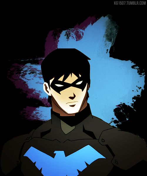 Young Justice Nightwing Young justice nightwing 500x600