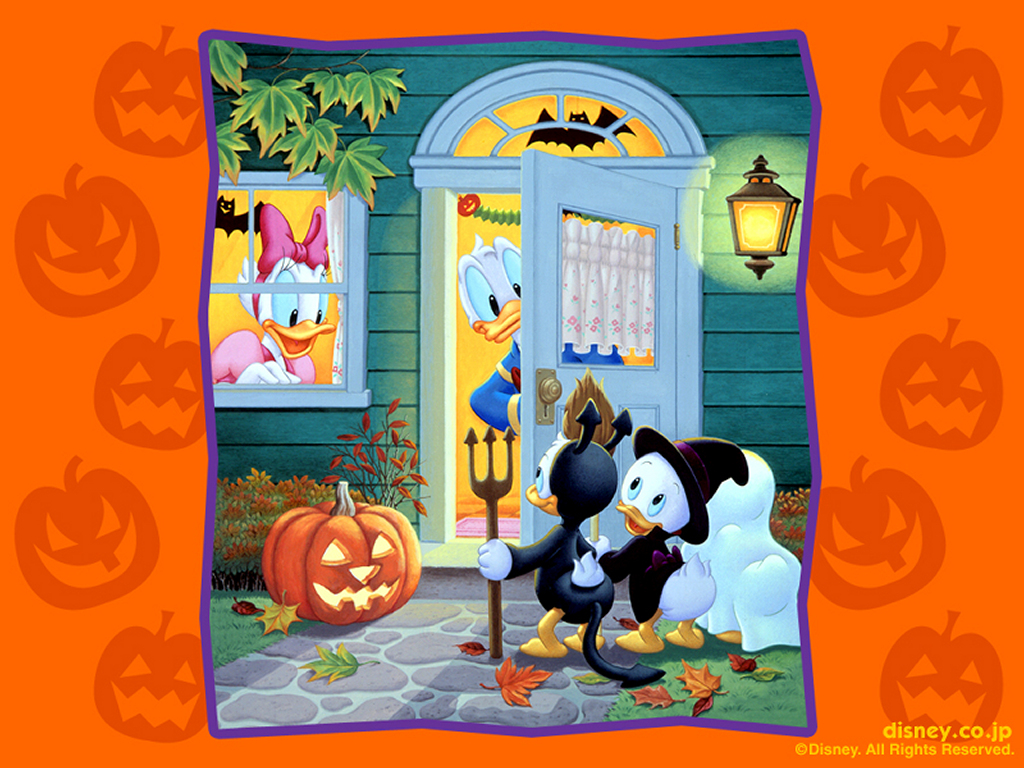 Disney Halloween wallpapers halloween disney   disney halloween 1024x768