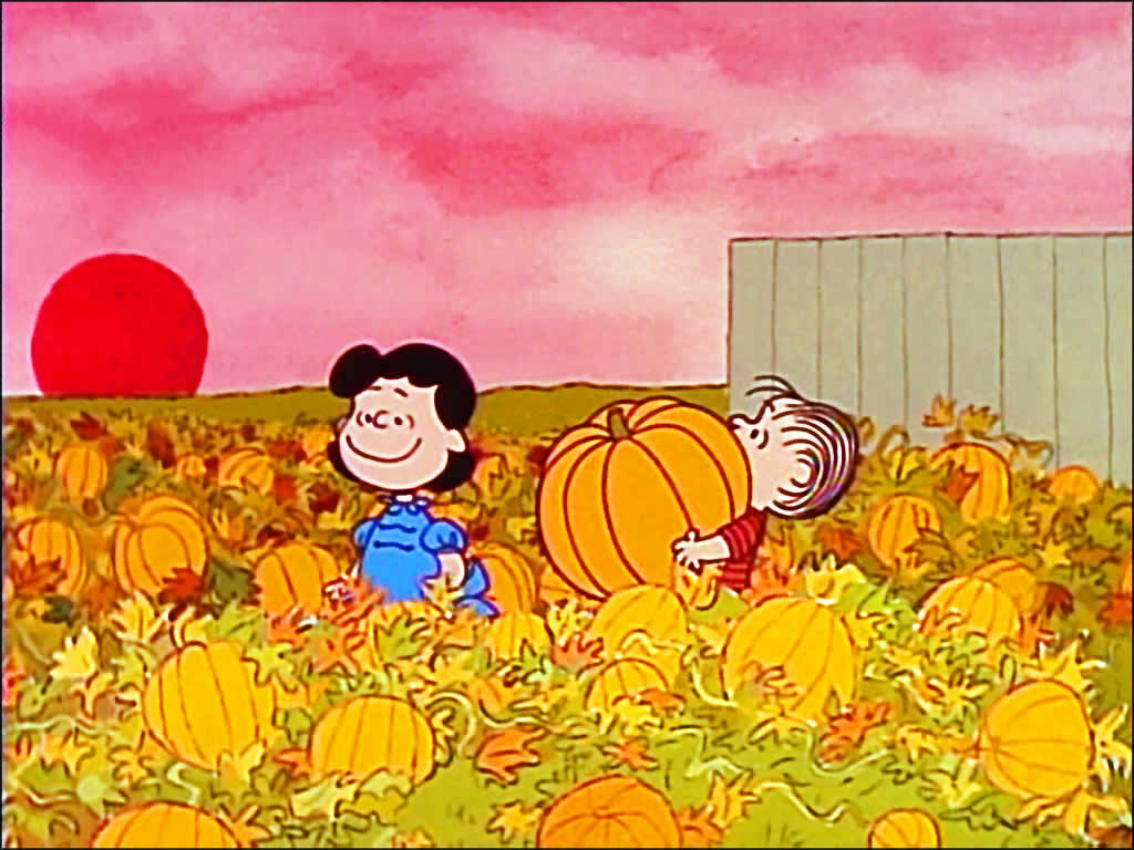 Wallpaper Charlie Brown Thanksgiving Wallpaper Halloween Screensavers 1024x768