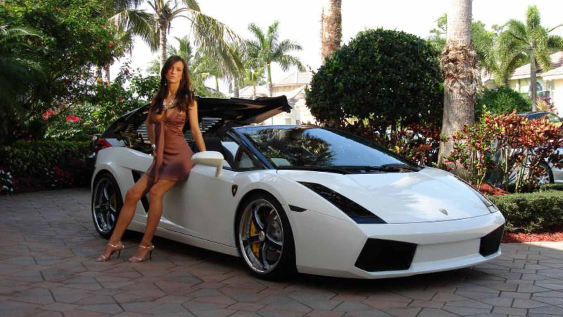Sport Car Wallpaper With Girl: Car Girl Wallpapers