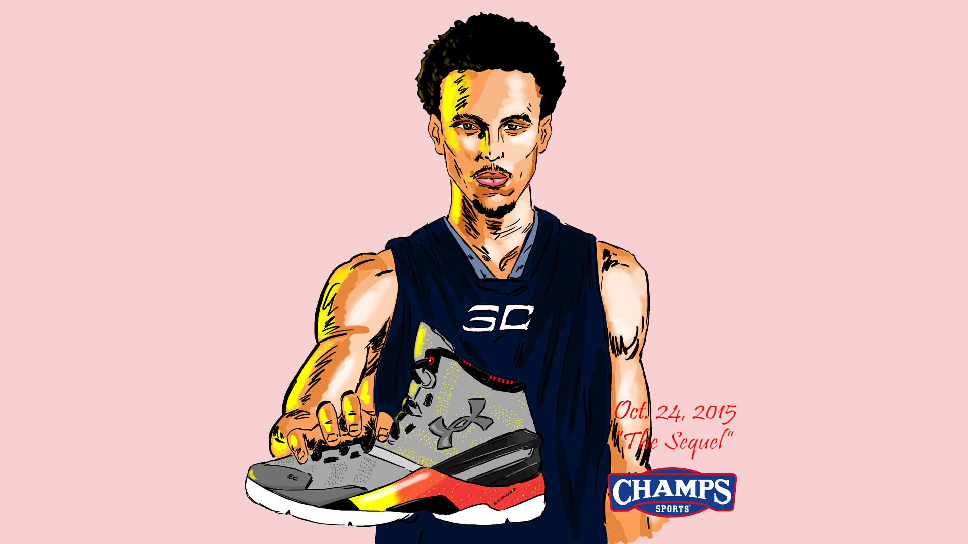 Stephen Curry Under Armour Curry Two Desktop Wallpaper   The Drop 1920x1080