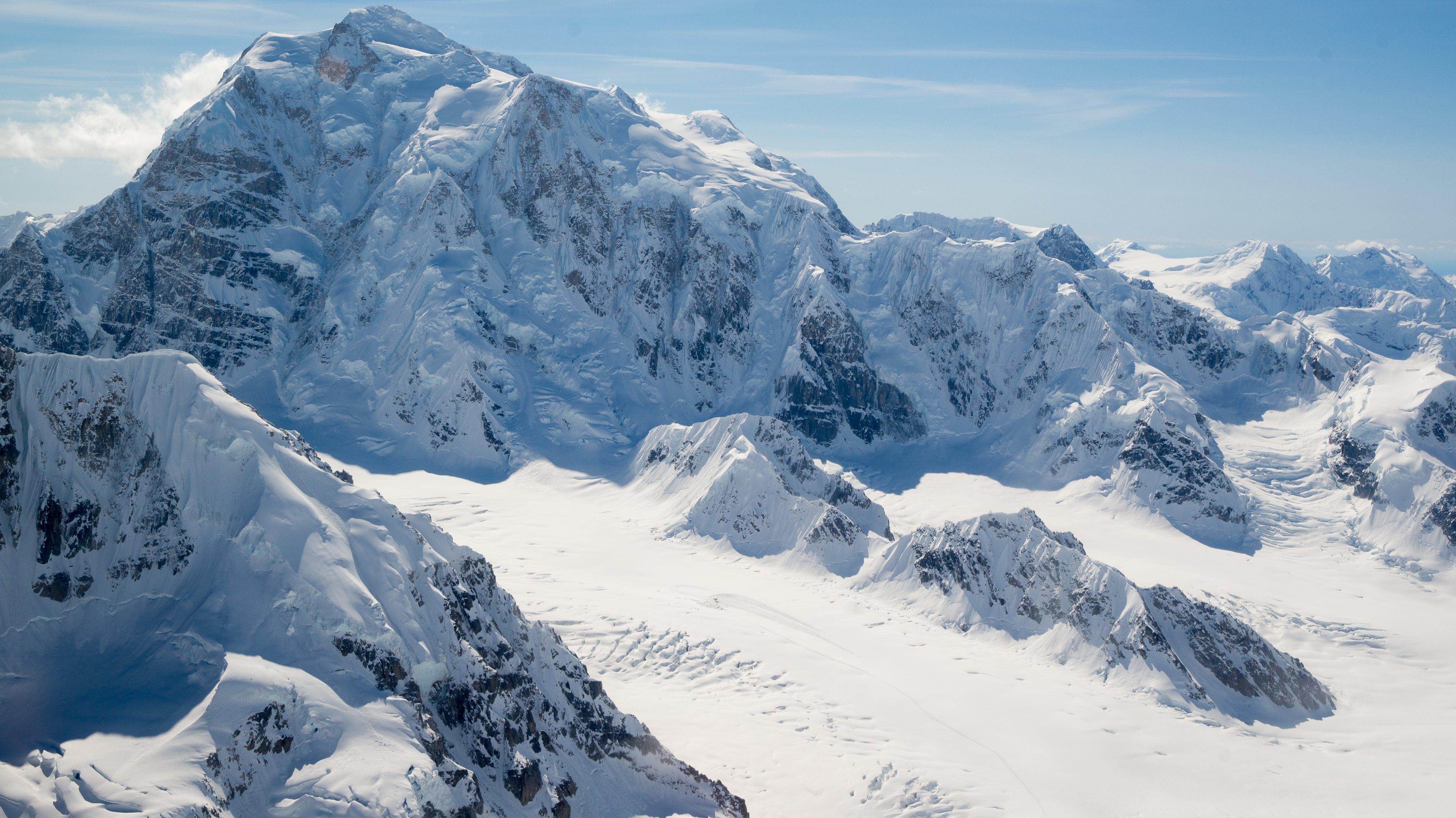 Alaska Landscape Snow Mountain Peaks HD Wallpapers 4K Wallpapers 3840x2160
