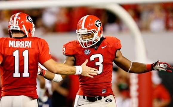 Georgia Bulldogs Football 2013 Georgia bulldogs 580x360