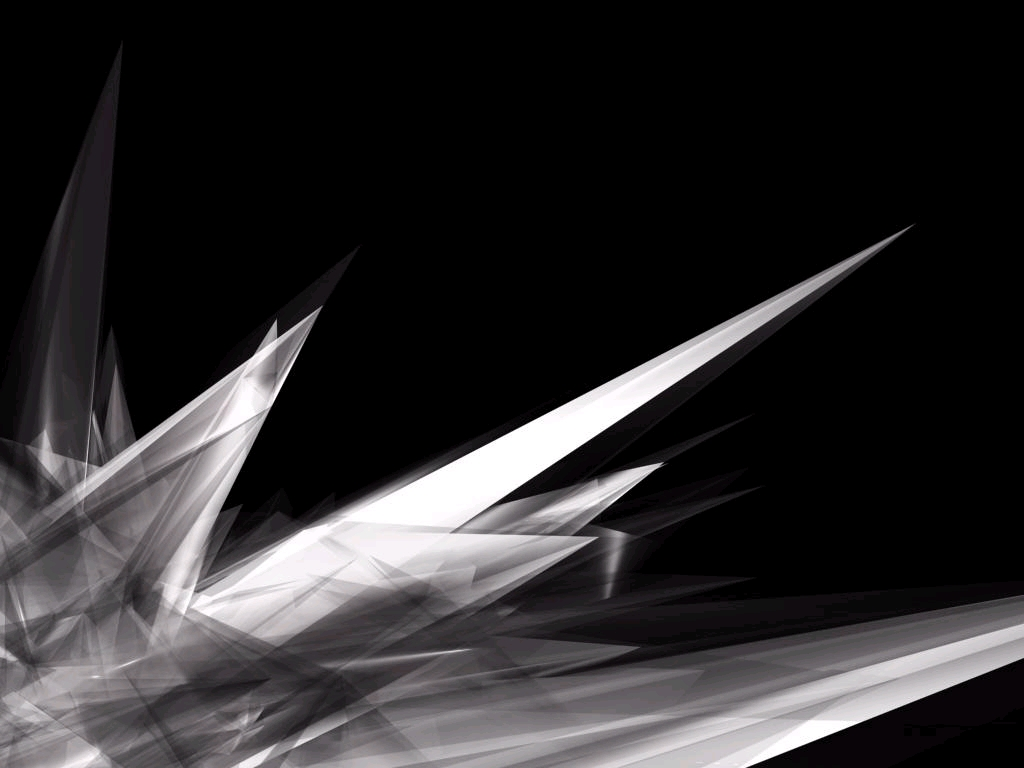 Black Abstract Wallpaper 1024x768