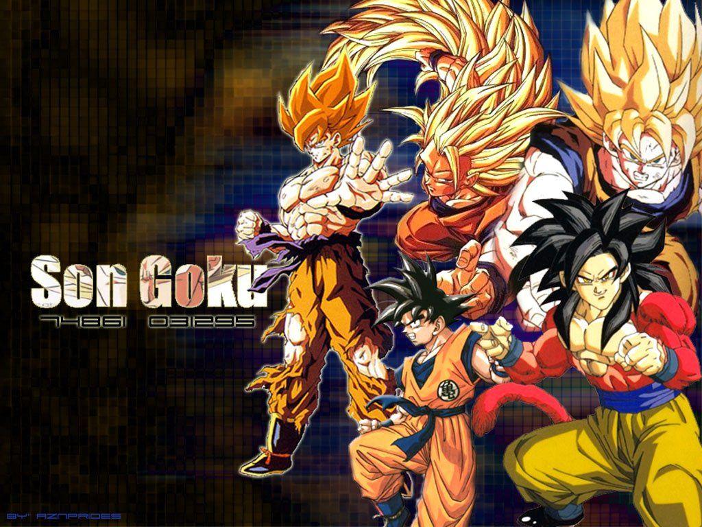 Son Goku Wallpapers Son Goku Myspace Backgrounds Son Goku 1024x768