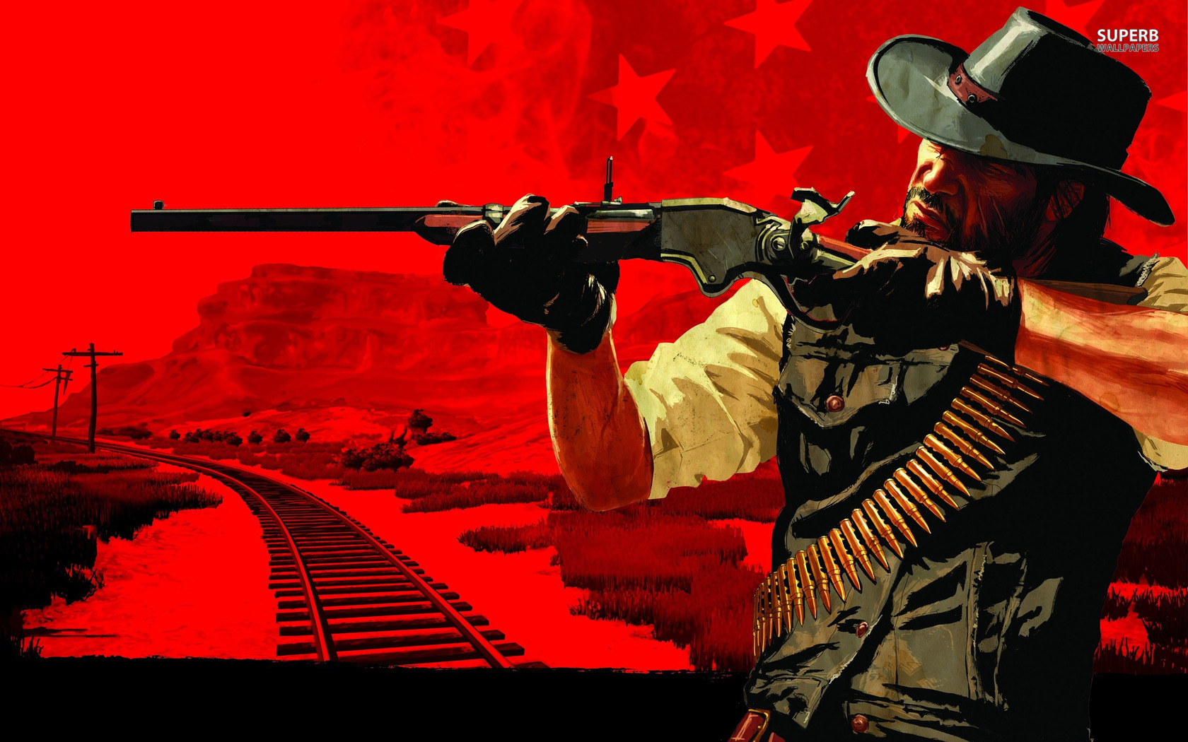 Free Download Red Dead Redemption Pc Games Wallpaper Hd Wallpapers