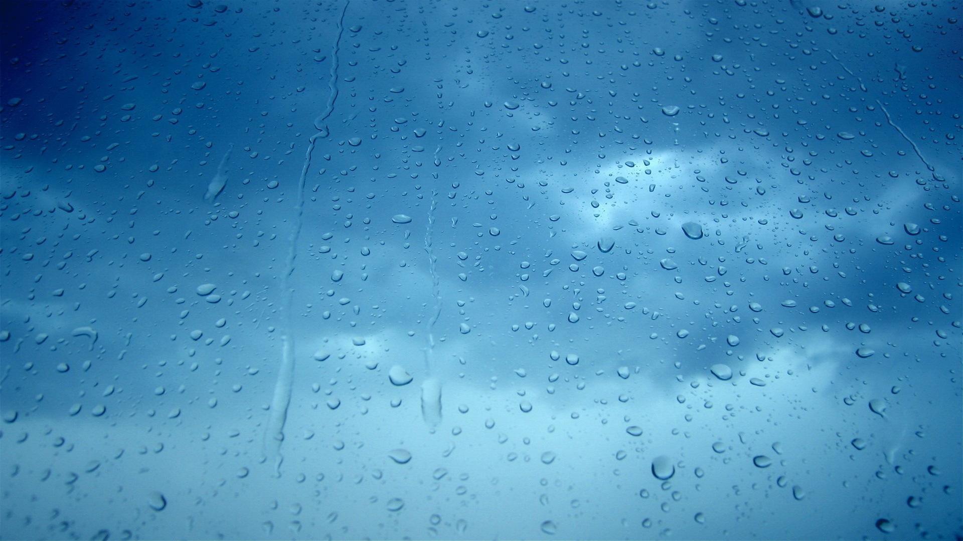 Desktop background macro droplet water drops macro HD 1920x1080