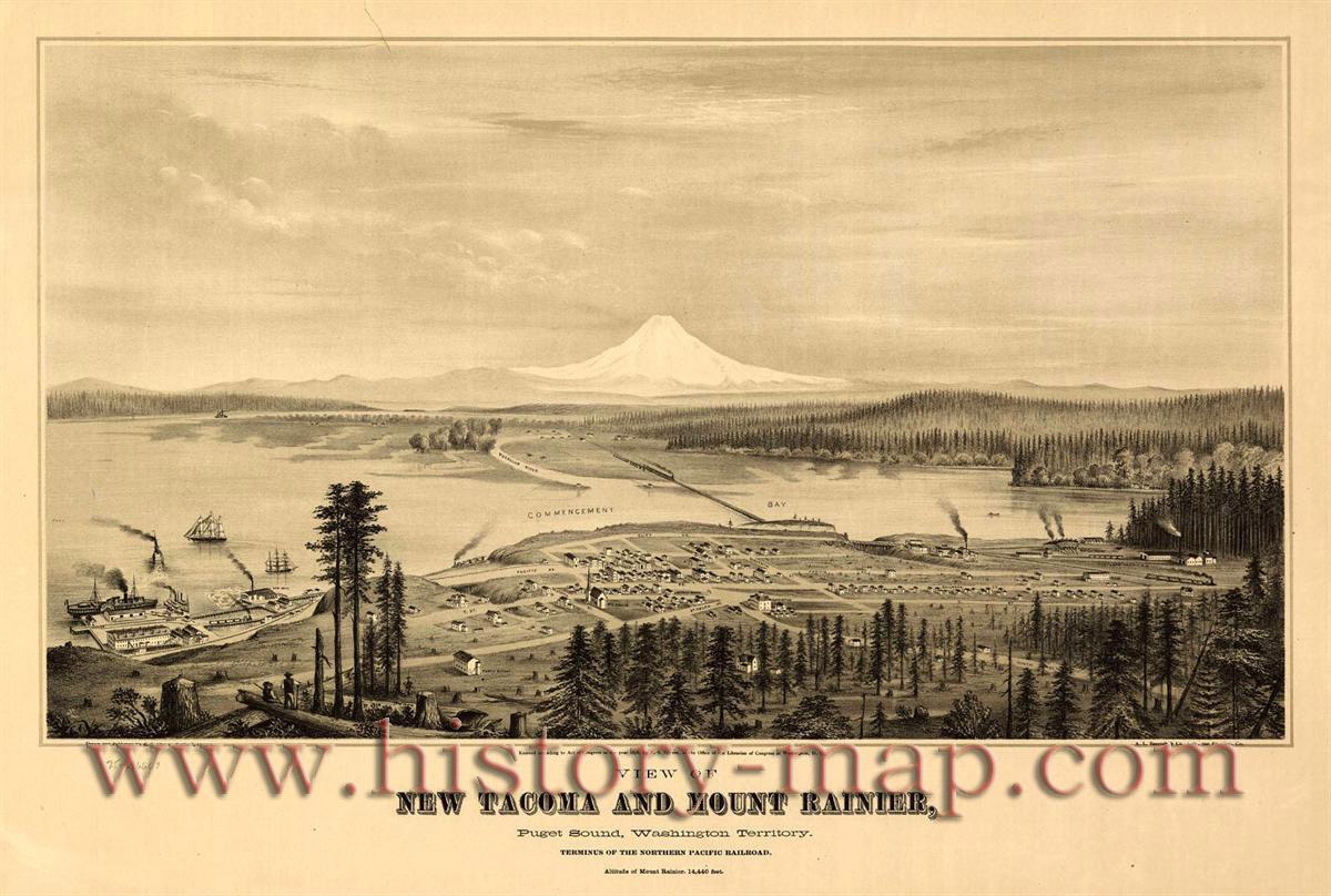 Tacoma WA picture Washington Tacoma jpg 1200x808