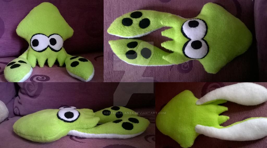 Splatoon Inkling Squid Green by KestrelAlanza 1024x569