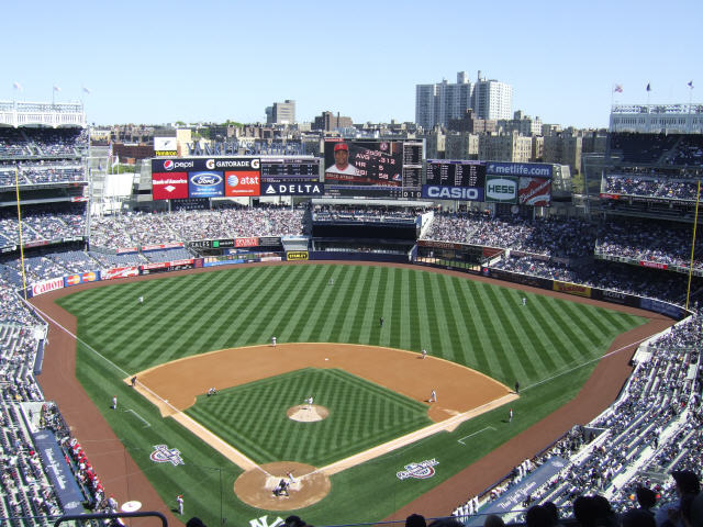 new york yankees stadium wallpaper New York Mets middot Yankee 640x480