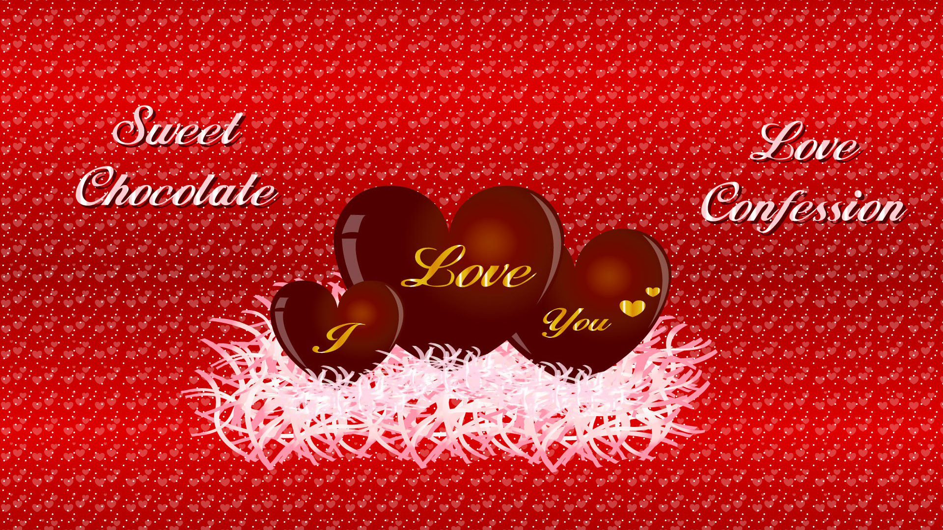 Sweet chocolate for Valentines Day wallpaper 41907 1920x1080
