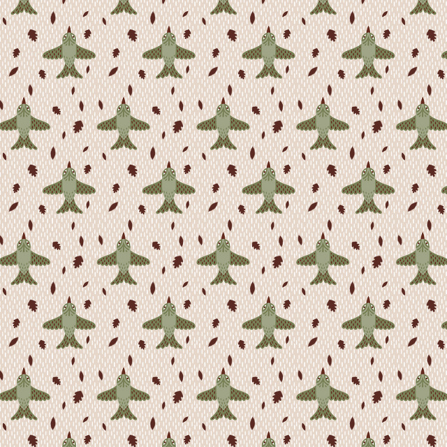 Bird Pattern Wallpaper Bird Pattern Kristyna 640x640