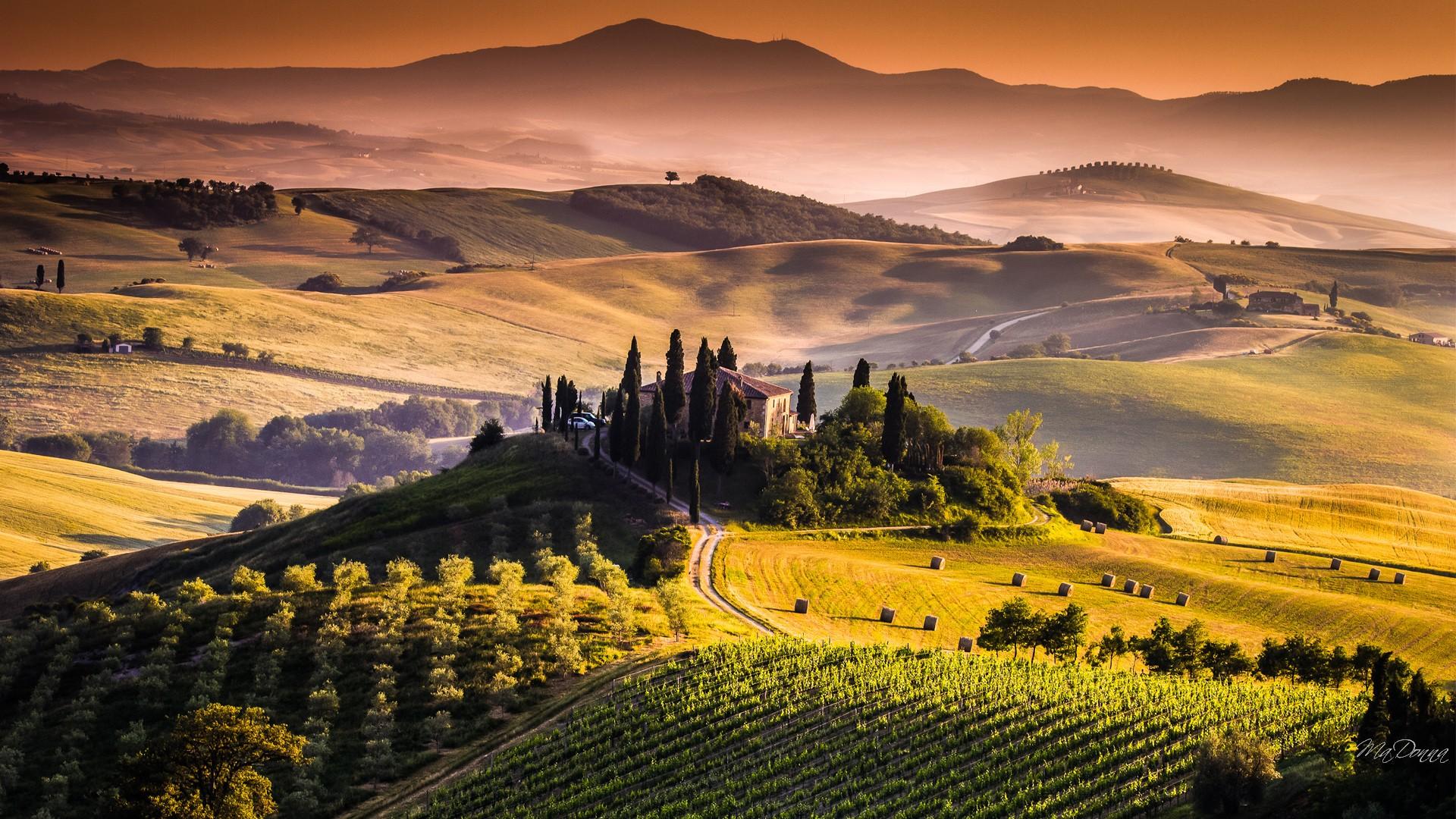 Tuscany Wallpaper for Desktop - WallpaperSafari