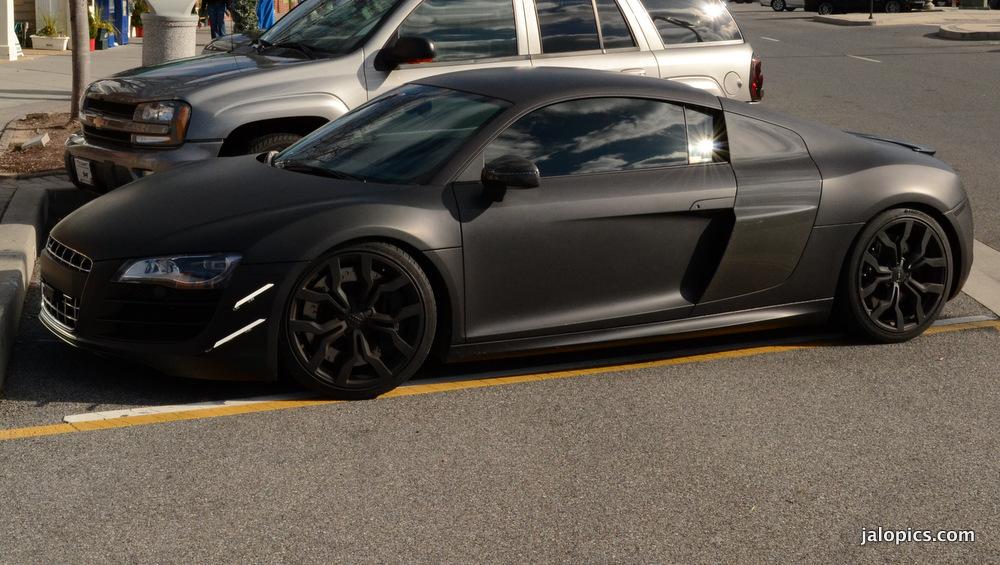 Matte Black Audi R8 Wallpaper Wallpapersafari