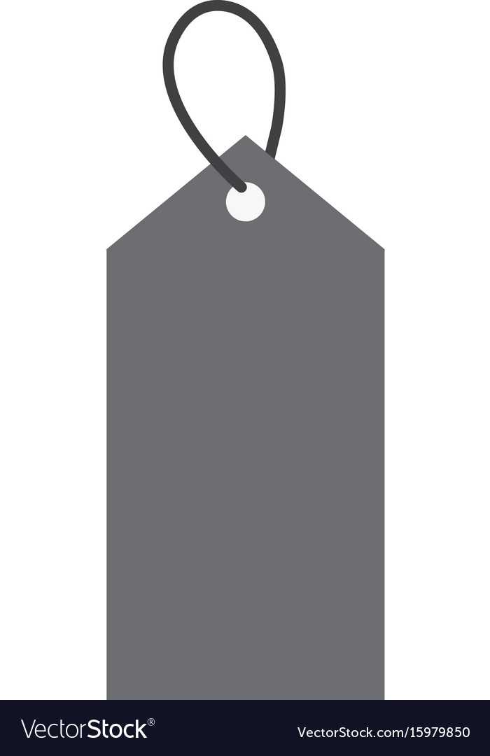 Price tag icon on white background price tag Vector Image 700x1080