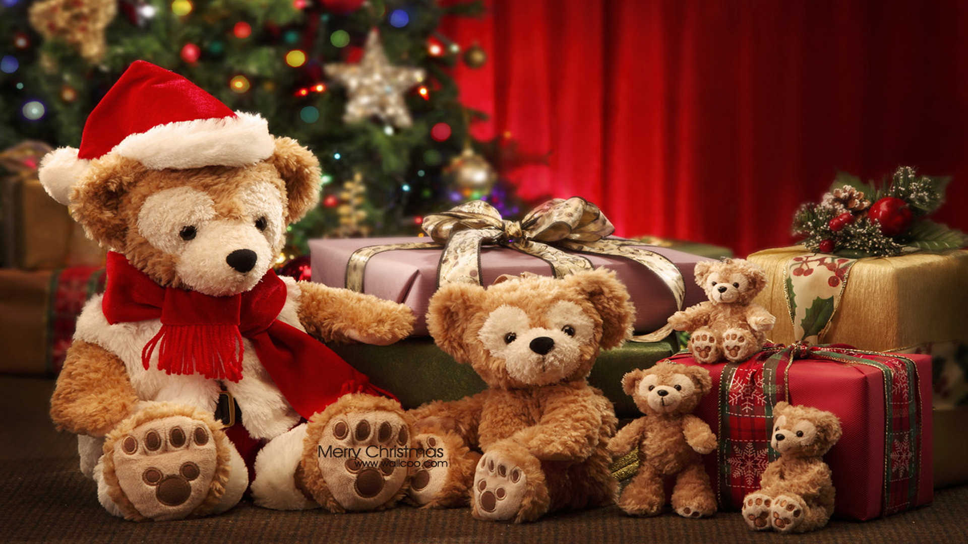 40 Cute Merry Christmas Wallpapers to Download For 1920x1080
