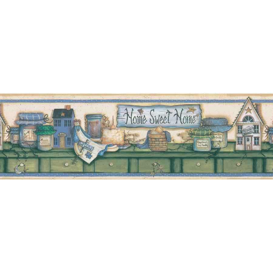 Kitchen Shelf Prepasted Wallpaper Border at Lowes com 900x900