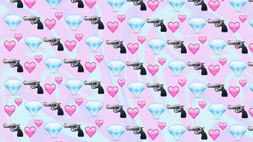 Group of dope emoji backgrounds   Google Search We Heart It 500x282