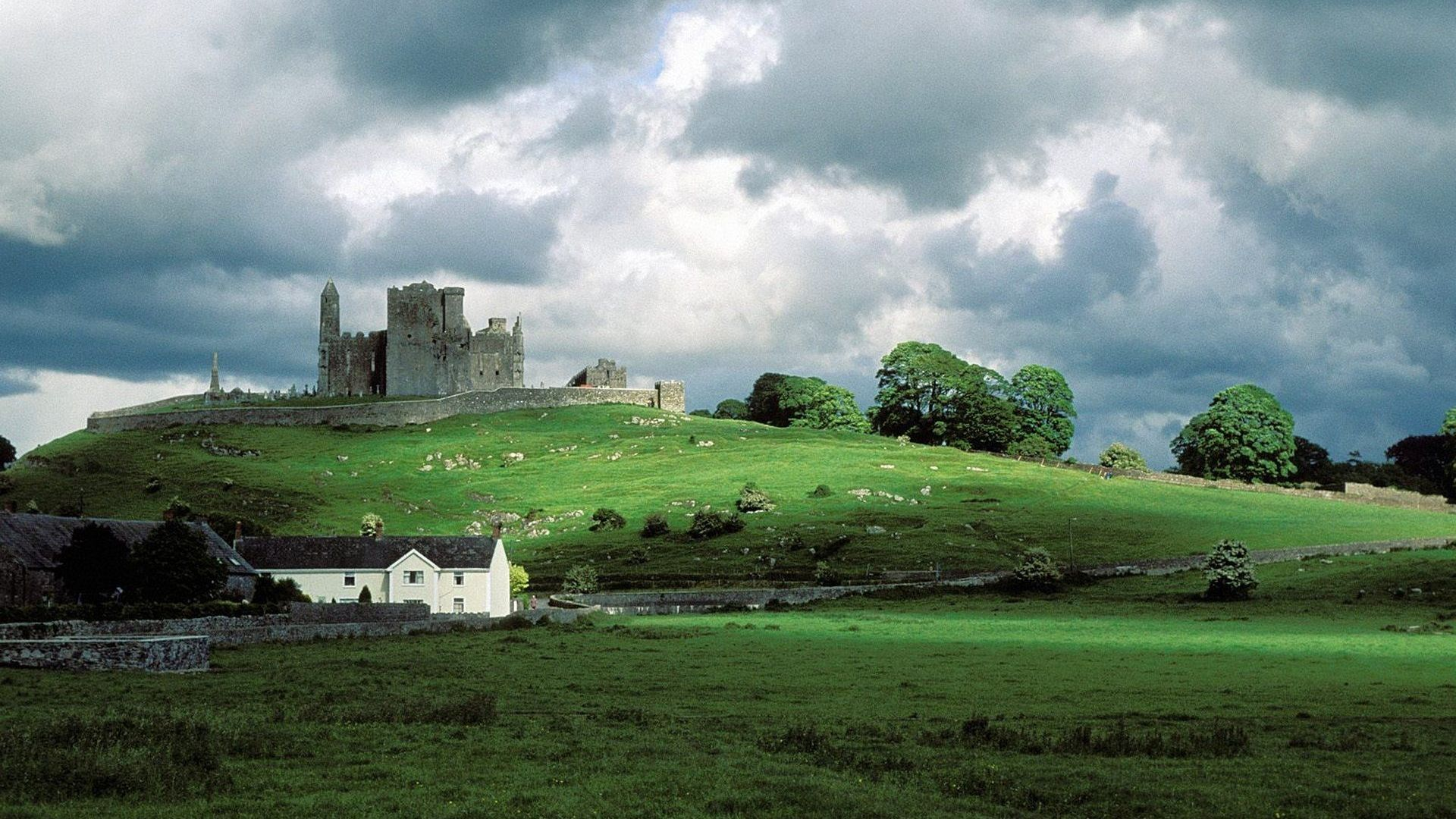 rock of cashel ireland wallpaper you are viewing the places wallpaper 1920x1080