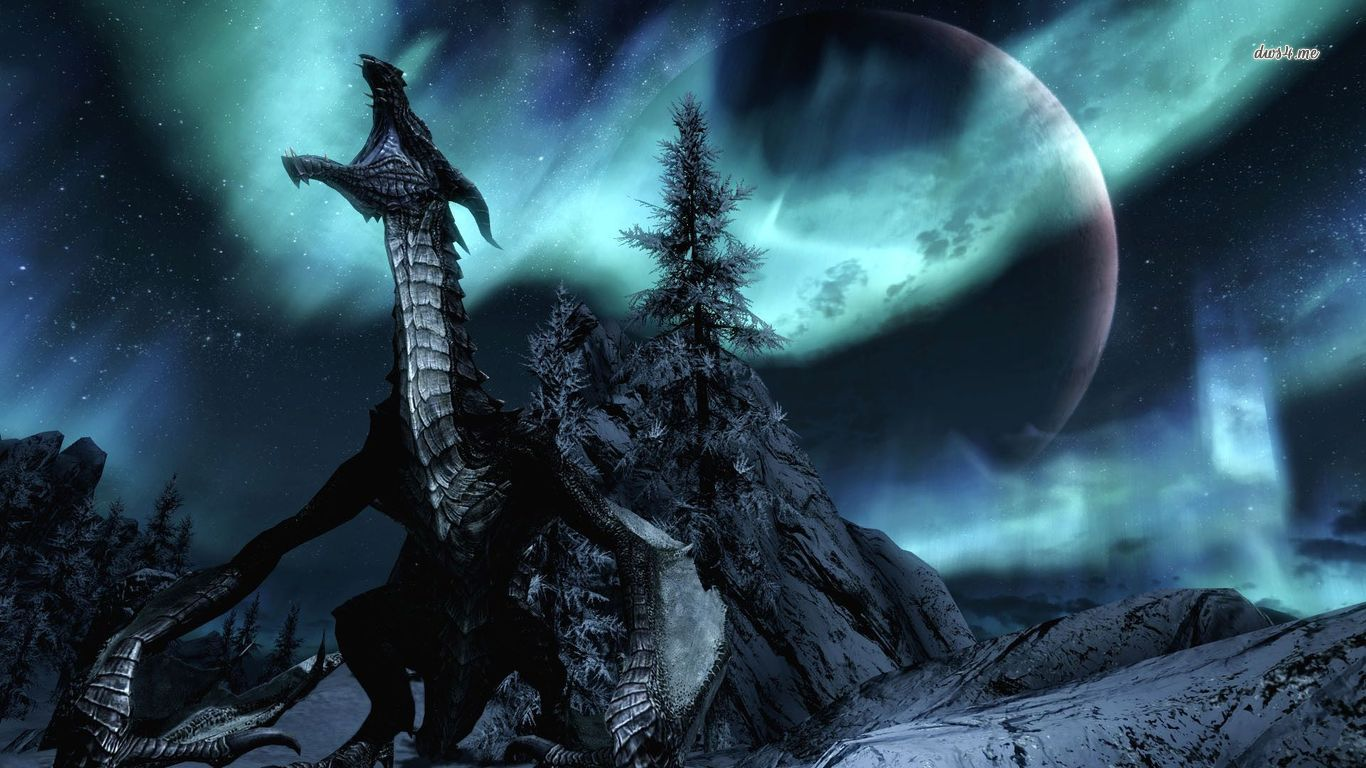 skyrim hd wallpapers 1366x768 - photo #14