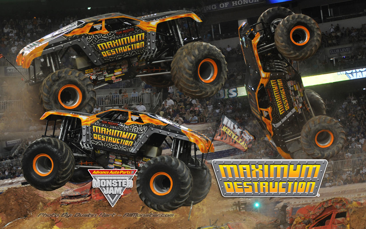 Monster Truck Grave Digger Wallpaper Images Pictures   Becuo 1280x800
