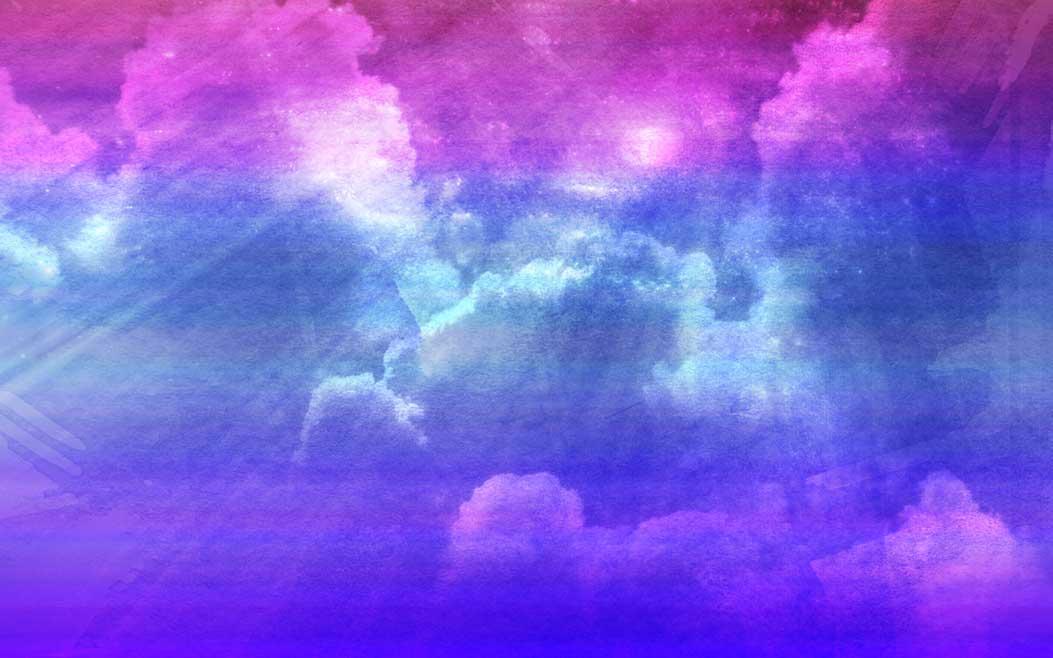Pink Purple Blue Wallpaper