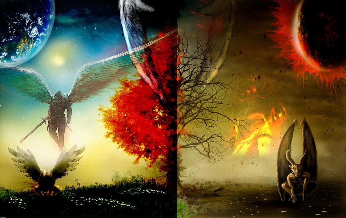 Angel Devil HD Wallpaper by KekzStyle 1124x710