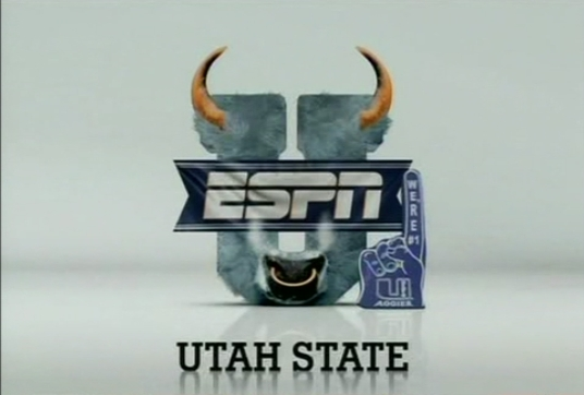 USUFanscom View topic   ESPNU Utah State Aggies Bull Logo 536x362
