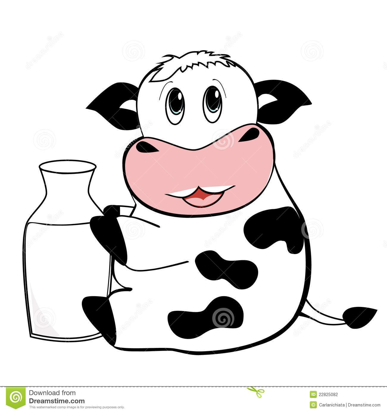 Cow Milk Animation Cute Cow Wallpaper - W...