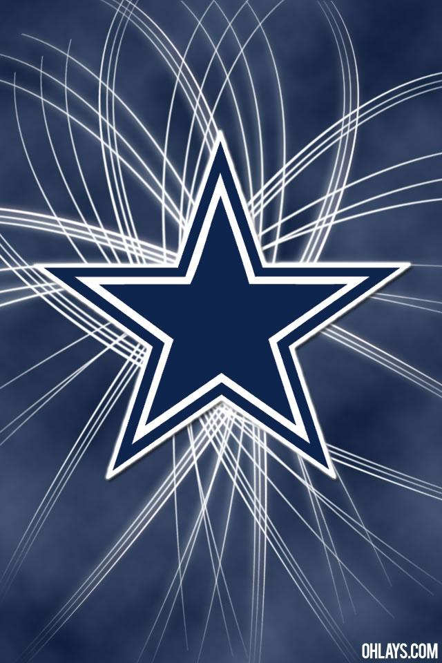 Dallas Cowboys Helmet Wallpaper Dallas cowboys logo with fancy 640x960