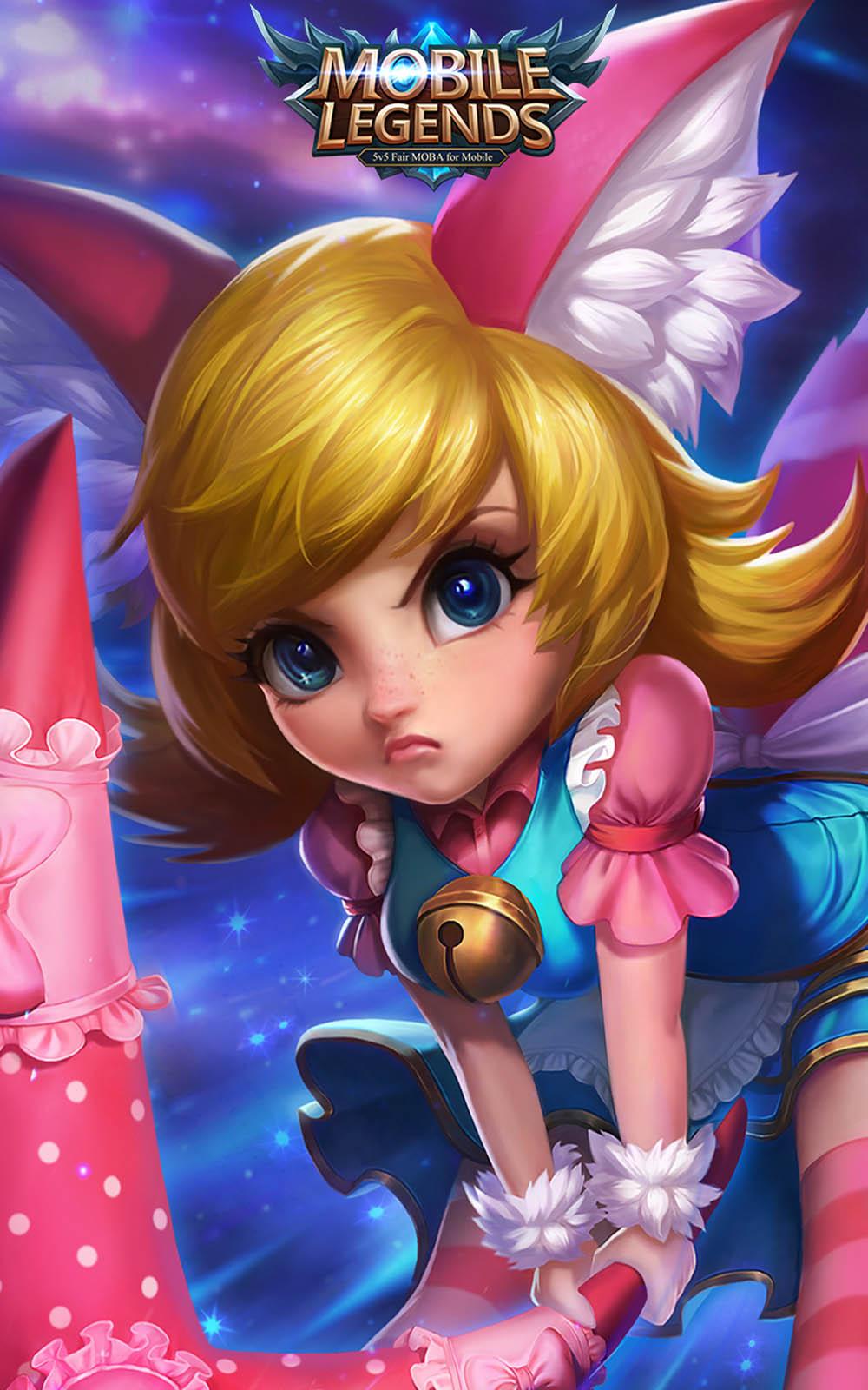 Download Nana Mobile Legends Hero Pure 4K Ultra HD Mobile 1000x1600