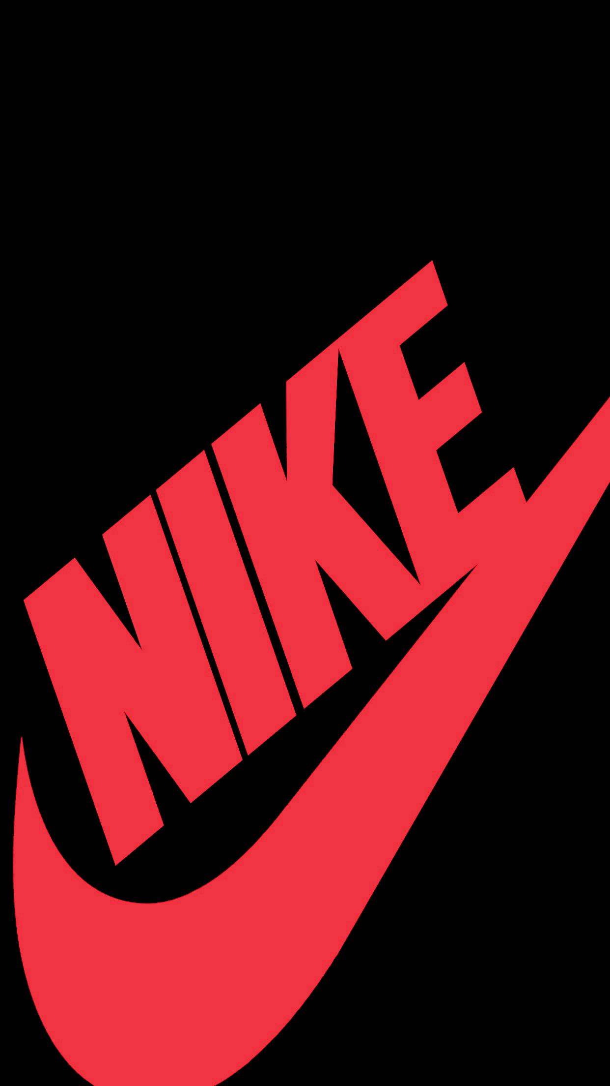 1242x2208   Red Nike Wallpapers   Wallpaper Zone NIKE 1242x2208