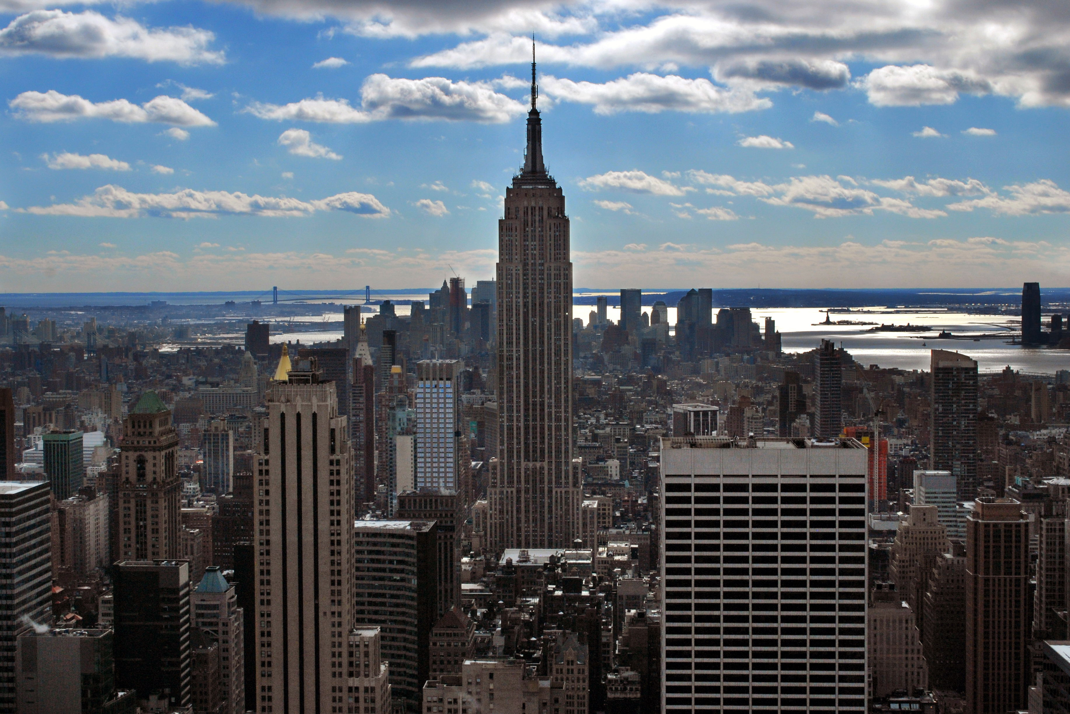 Empire State Building View   wallpaper 3667x2445