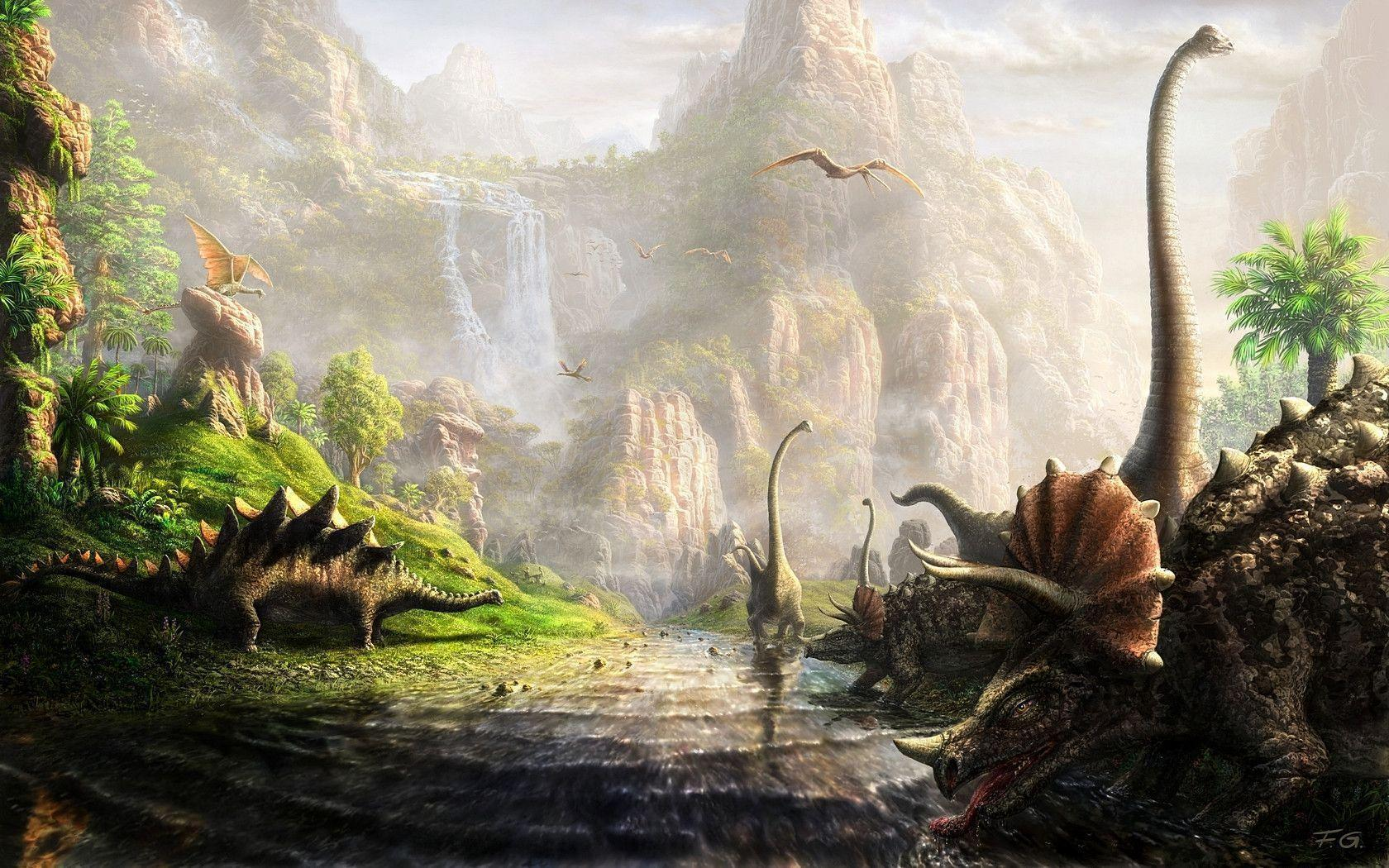 Dinosaurs Wallpapers 1680x1050