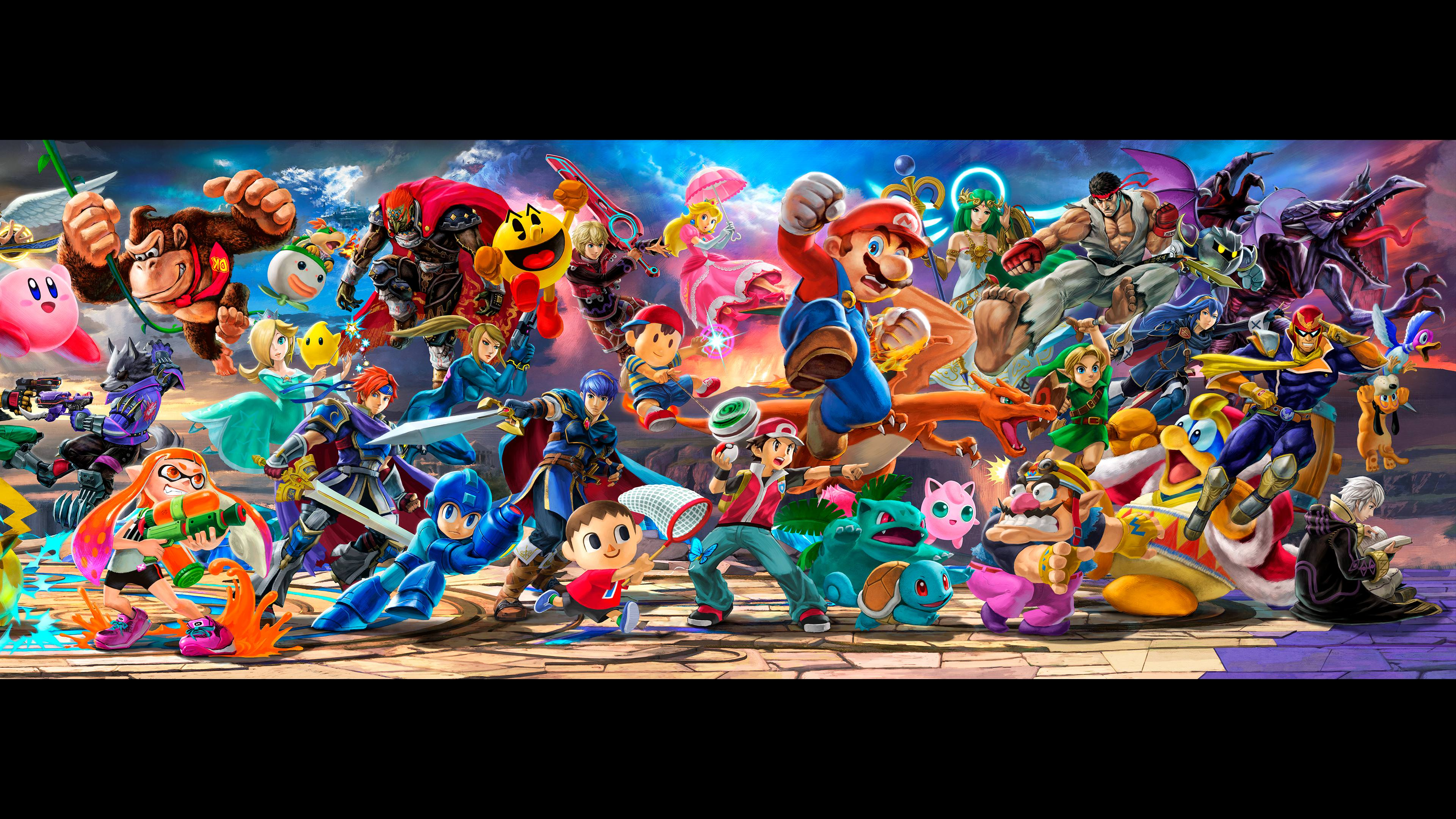 Free Download Super Smash Bros Ultimate Banner For Dual Monitors