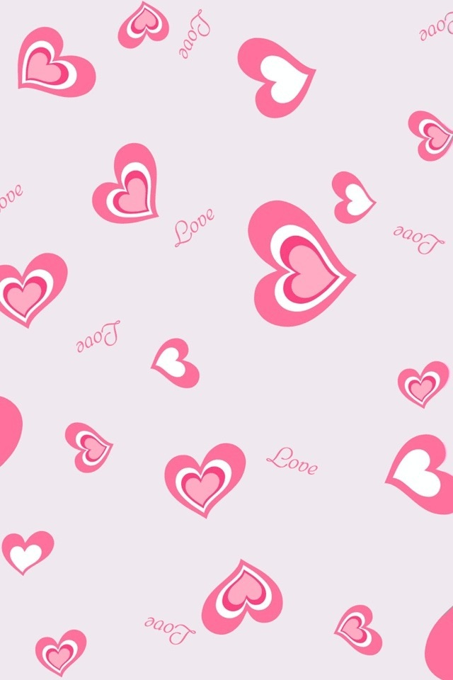 Love Pink Wallpapers for iPhone - WallpaperSafari