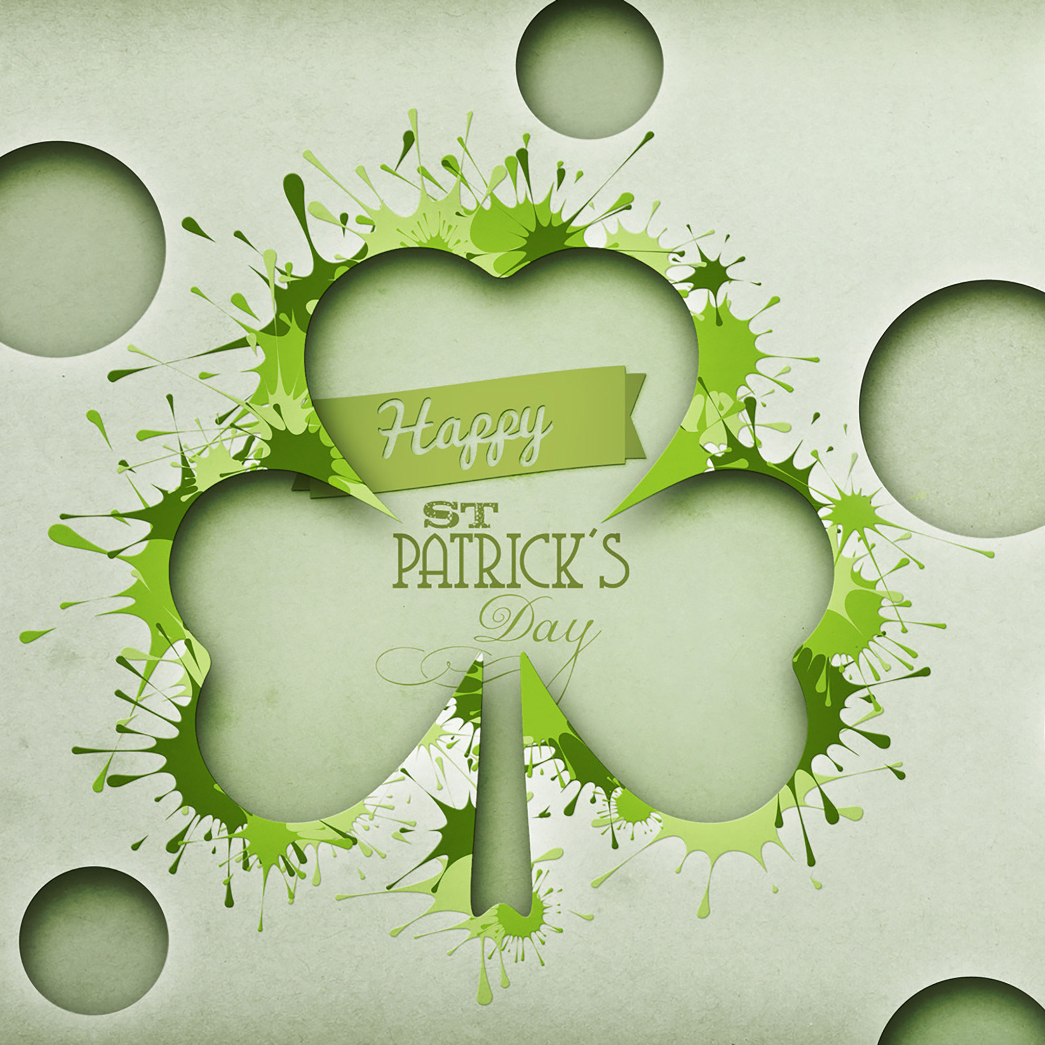 12 St Pattys Day iPad Backgrounds 2048x2048
