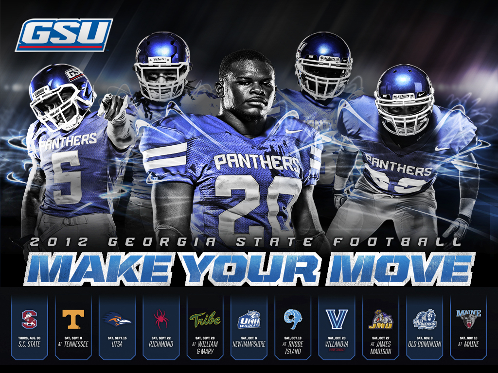 2012 Football Wallpaper Facebook and Twitter Covers   Georgia State 1024x768