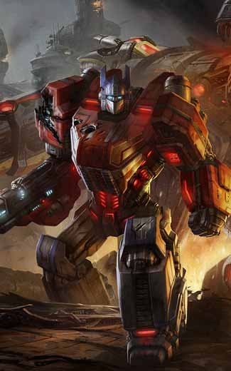 Transformers Fall of Cybertron mobile wallpaper or background 03 325x520