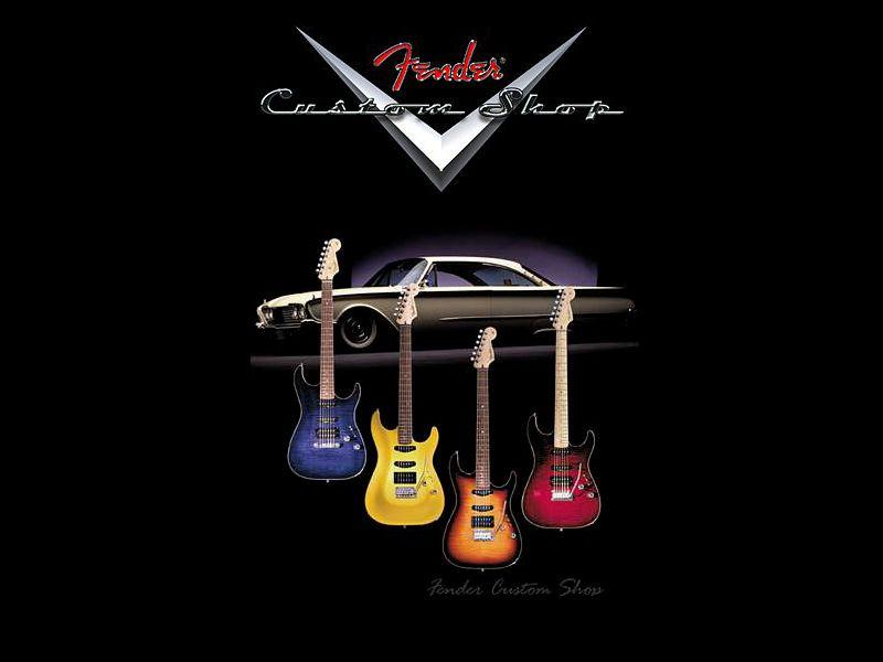 Thread Fender Custom Shop Wallpaper 800x600