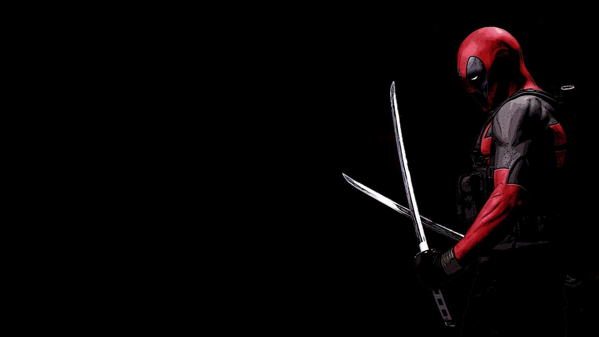 Wade Winston Deadpool Marvel Comics Wallpaper HD 1920x1080