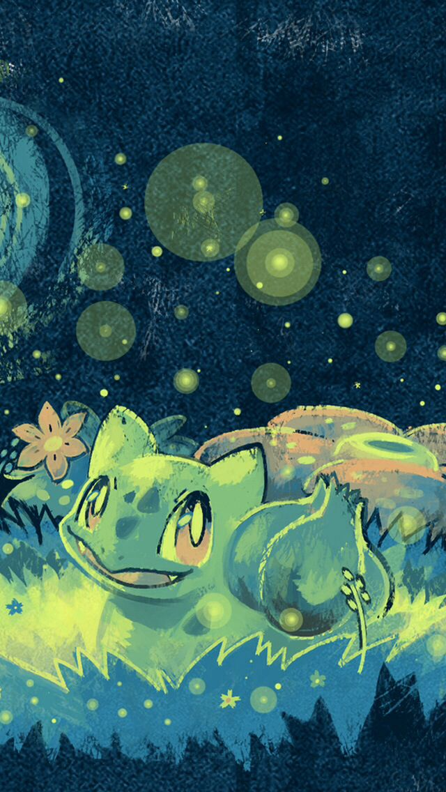 Bulbasaur Cute Pokemon Pokemon Pokemon backgrounds Bulbasaur 640x1136