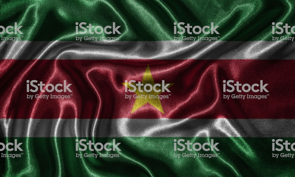 Wallpaper By Suriname Flag And Waving Flag By Fabric Stock Photo 1024x615