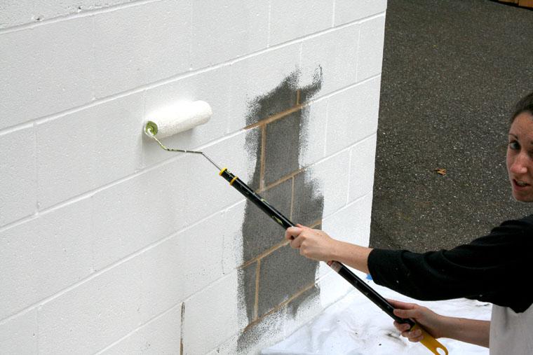 Wallpaper Over Cinder Block Wallpapersafari
