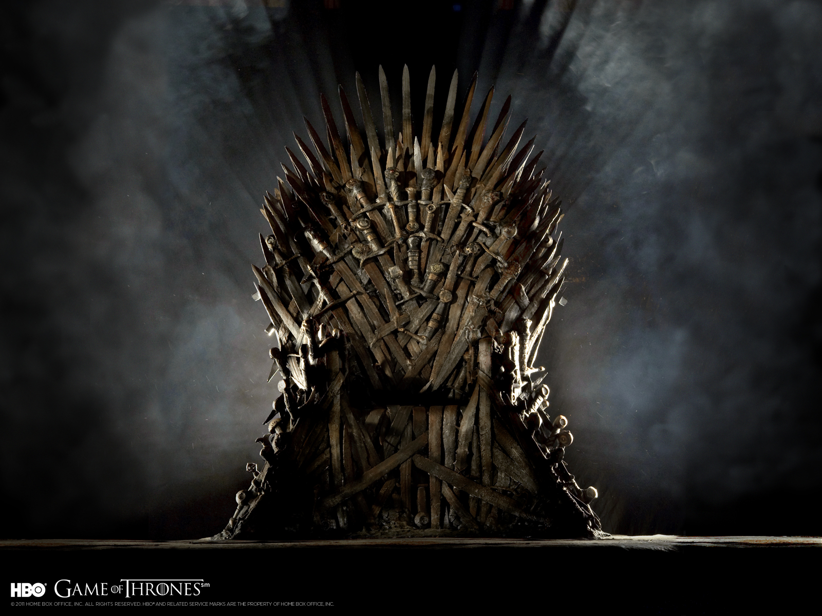 Iron Throne Wallpaper 1600x1200
